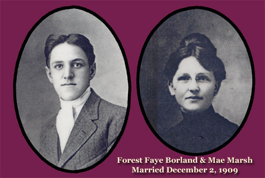 Forest Faye Borland and Mae Marsh
